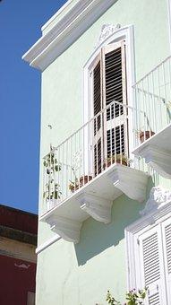 Carloforte, San Pietro, Island, Balcony, Sky, Trip