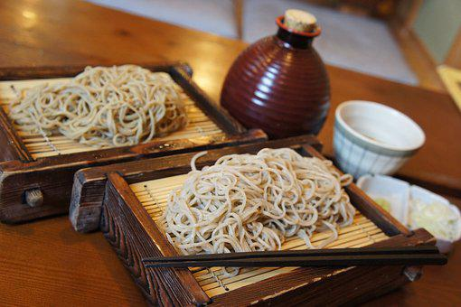 Japan, Food, Soba, Traditional