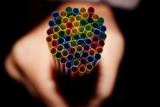 Strohalme, Straws, Colorful, Tube, Plastic Tubes, Color