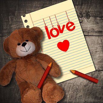 Note, Dedicated, Love, Romantic, To Write, Card