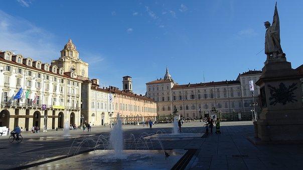 Turin, Piedmont, Holidays, Italy, Europe, Summer