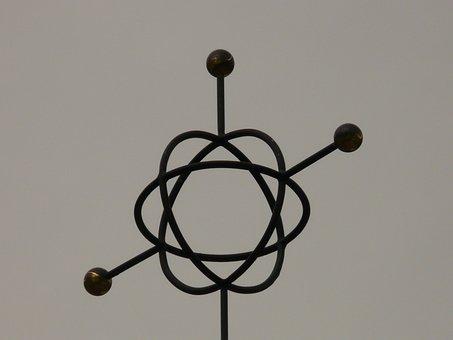 Symbol, Metal, Characters, Atom, Atom Model, Abstract