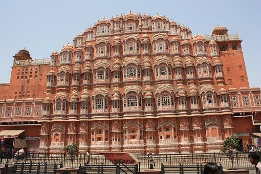Jaipur, India, Rajasthan, Architecture, Palace Of Winds