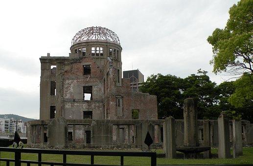Hiroshima Peace Memorial, Symbols, Memorial, Atom Bomb