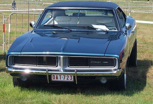 Dodge Charger, 1969, Classic, Vintage, Car, Auto