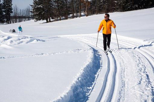 Cross-country Skiing, Trail, Trace, Binding