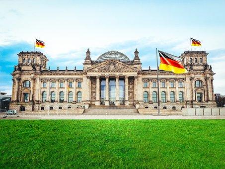 Berlin, Bundestag, Reichstag, Architecture
