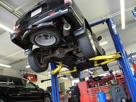 Car, Mechanic, Automobile, Mechanical, Auto Repair Shop