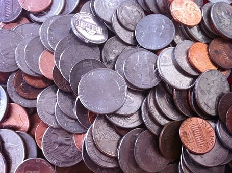Coins, Money, Change, Finance, Monedas, Cash, Currency