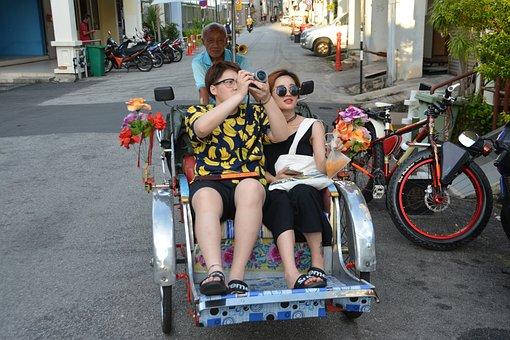 Tourists, Sight Seeing, Tourism, Travel, Tour, City