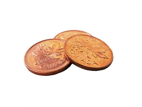 Penny, Pennies, Coins, Coin, Money, Currency, Cash