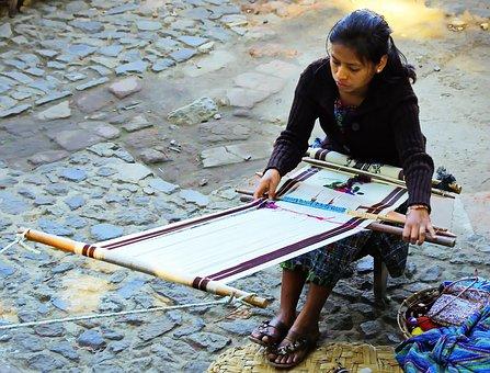 Guatemala, Antigua, Weaver, Crafts, Weaving