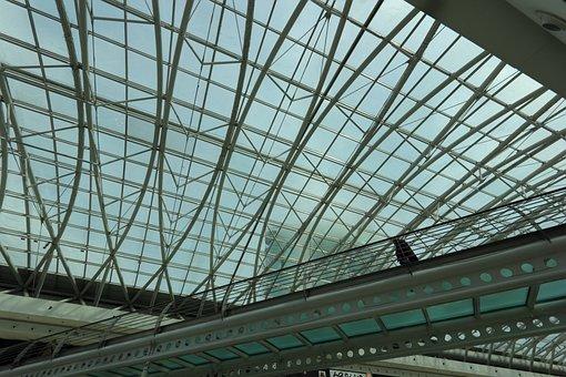 Portugal, Lisbon, Expo, Area, Shopping, Mall, Vasco, Da