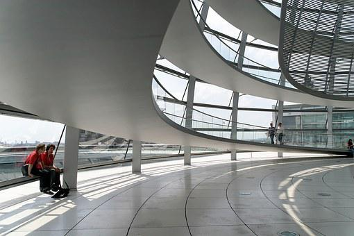 Berlin, Reichstag, Architecture, Dome, Germany