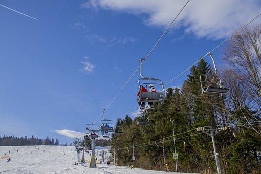 Ski Resort, Winter, Ferie, Ski Lift, Lift Chair, Snow