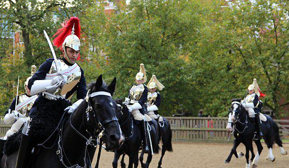 Soldier, Royal Ride, London, Queen, Great Britain