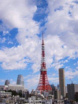Tokyo Tower, Shiba, Minato-ku, Tokyo, Japan, Bill