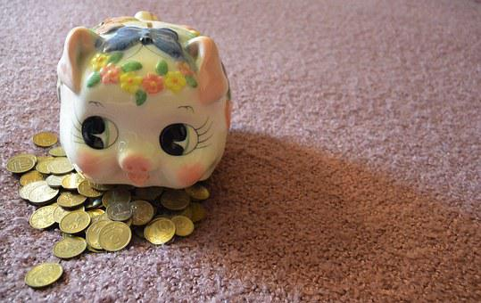 Piggy, Ruble, Penny, Kopek, Coin, Russia, Handful