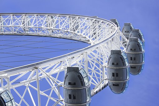 London Eye, London, Joust, Holiday, Ferris Wheel, Park