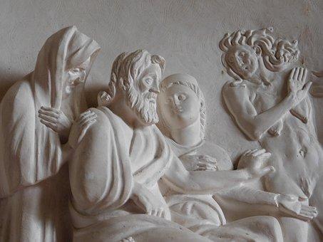 Palazzo Del Te, Decoration, Bas Relief, Mantova