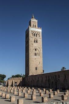 Mosque, Marrakesh, Morocco, Moroccan, Africa, Marrakech