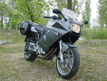 Bmw, F800st, Gray, Engine, Motorcycle, Headlight