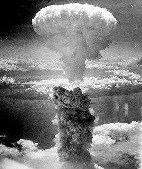 Mushroom Cloud, Atomic Bomb, Nuclear Explosion