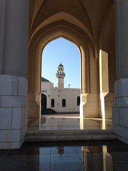 Oman, Muscat, Muslim, Islam, Architecture, Arabia