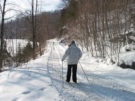 Cross Country Skiing, Snow, Winter, Cold, Ontario