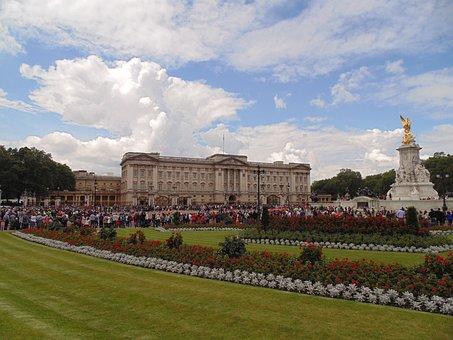 Buckingham, Palace, London, England, Uk, Britain