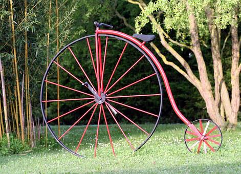 Penny-farthing, Bicycle, Former, Draisienne, Wheels