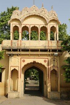 Jaipur, Rajasthan, Palace, India, Architecture