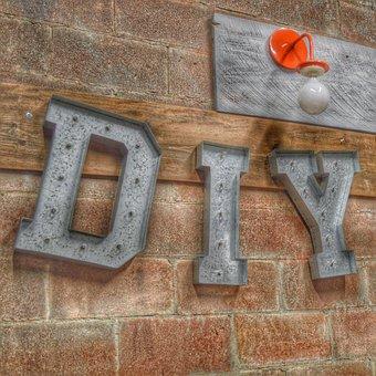 Sign, Do It Yourself, Diy, Improvement, Repair, Symbol