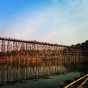 Bridge, River, Weave Tourist, Tha Town Bridge