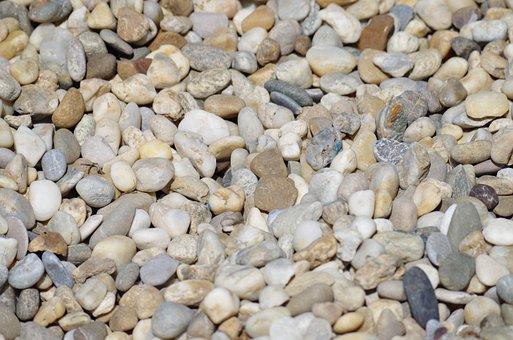 Gravel, Stones, Rockery, Walkway