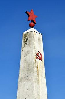 Monument, Hammer And Sickle, Hammer, Sickle, Russia