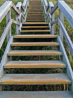 Stairs, Stairway, Steps, Staircase, Up, Treads, Railing