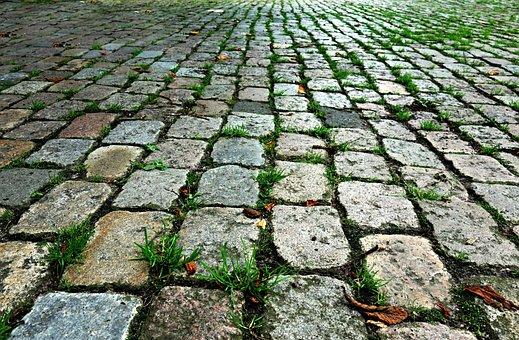Stone, Cobblestone, Cobbles, Street, Walkway, Pavement
