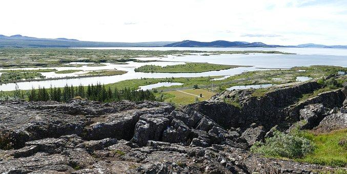 Iceland, Thingvellir, Parliament, þingvellir, Rock