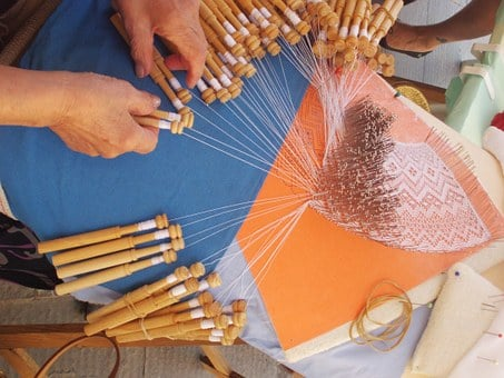 Bobbin Lace, Crafts, Sewing, Tissue, Looms, Art