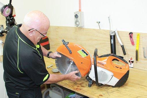 Workshop, Maintenance, Tools, Repair, Concrete