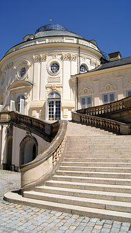 Castle, Stuttgart, Baroque, European, Tourism, Germany