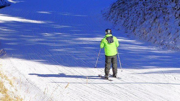 Ski, Skier, Winter Sports, Snow, Skiing, Tracks