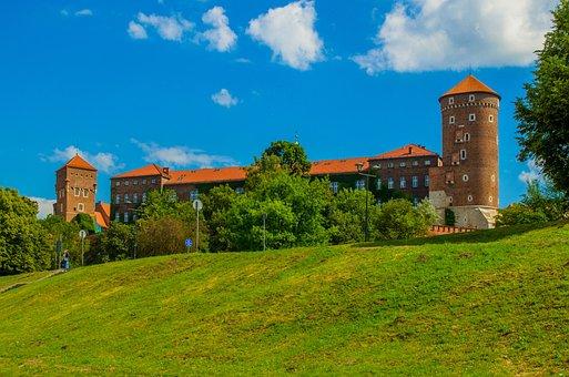 Wawel, Castle, Krakow, Poland, Europe, Sights, Tourism