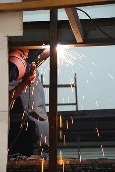 Welding, Factory, Industry, Welder, Worker, Industrial