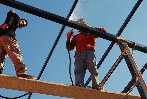 Welding, Iraq, Metal, Construction, Building
