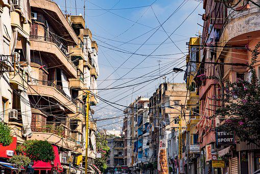Street, Buildings, Cables, Ancient, Armenian