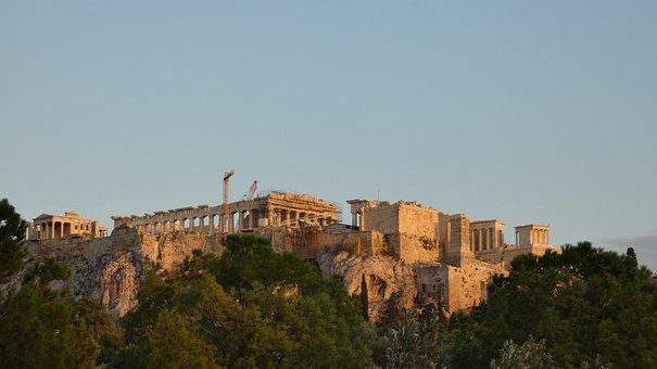 Acropolis, Athens, Temple, Greece, Archaeology