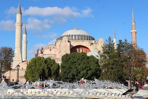 Hagia Sophia, Hagia Sofia, Cami, Turkey, Islam