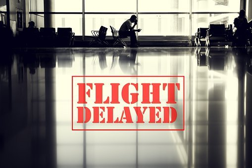 Flight, Delay, Airport, Cancelled, Waiting, Room